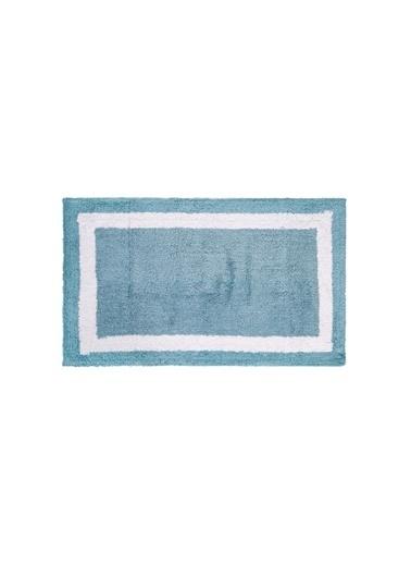 İrya Home&More Pamuk Banyo Paspası Barnes Sılver 53*86 Mavi